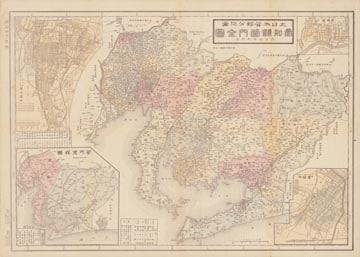 大日本管轄分地図 愛知県管内全図