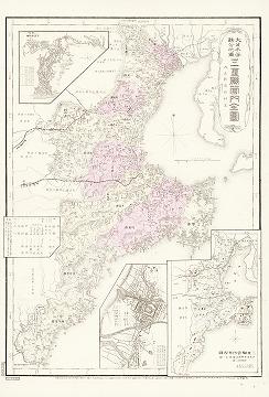 大日本管轄分地図 三重県管内全図