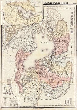 大日本管轄分地図 滋賀県管内全図