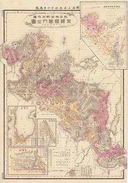 大日本管轄分地図 京都府管内全図