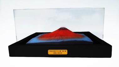 富士山 平成富嶽三十六景 第二景 赤富士 (カバーケース付きモデル)