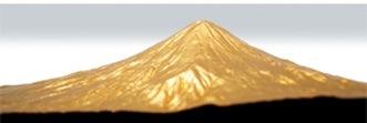 富士山 平成富嶽三十六景 第三景 黄金富士(こがねふじ) ケース付き仕様