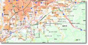 数値地図(国土基本情報20万)オンライン