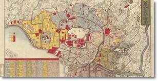 日本の市街図