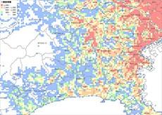 平成27年国勢調査地域メッシュ統計