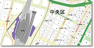 DTP MAP 1/10000