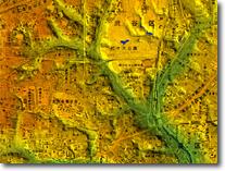 デジタル標高地形図