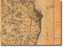 明治前期測量フランス式彩色地図