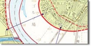 治水地形分類図