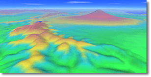数値地図250mメッシュ(標高)