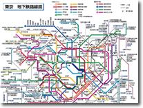 全国地下鉄路線図