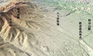 八ヶ岳東部