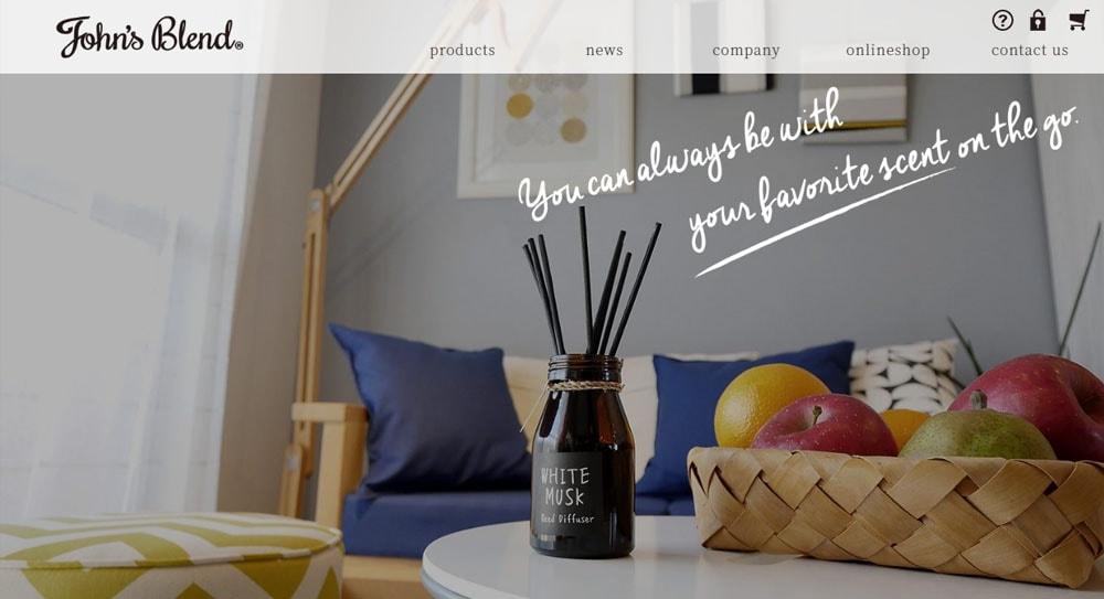 【公式サイトOPEN】John's blend公式ブランドサイトがOPENしました。