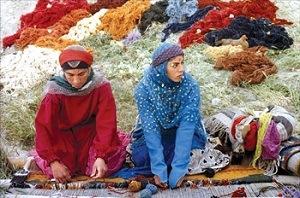 ギャッベの織り方 古代と現代�