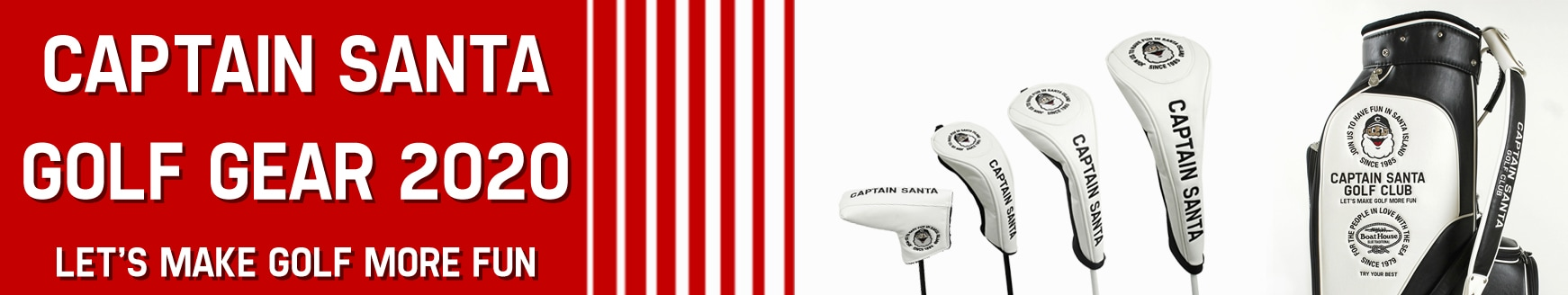 CAPTAIN SANTA GOLF GEAR