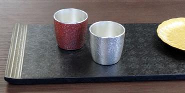 伝統的工芸品、大阪浪華錫器のぐい呑み