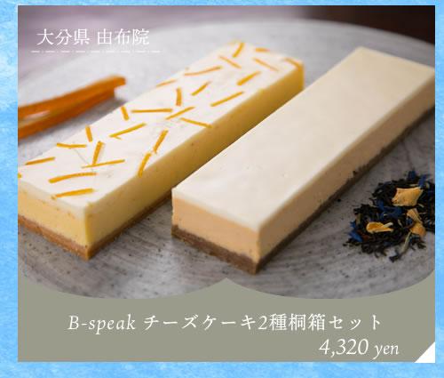 bspeakチーズケーキ