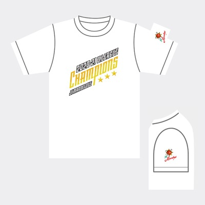 JTマーヴェラス 2020-21 V.LEAGUE 優勝記念Tシャツ/ホワイト