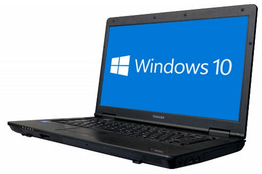 東芝 Dynabook Satellite B552/F(1600463)【Win10 64bit】【Core i3】【メモリ4GB】【HDD500GB】【DVD-ROM】