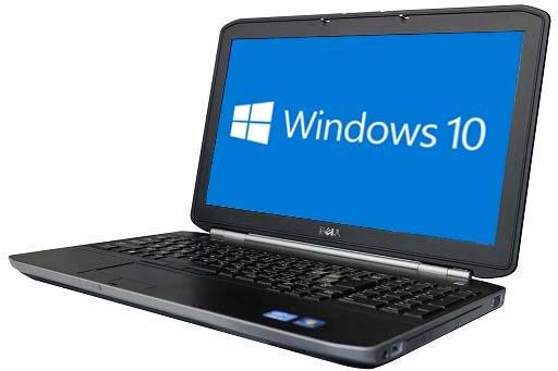 DELL LATITUDE E5530(1704527)【Win10 64bit】【HDMI端子】【テンキー付】【Core i3 3110M】【メモリ4GB】【HDD5