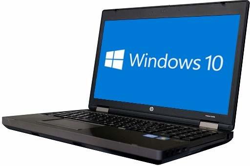 HP ProBook 6570b(1800221)【Win10 64bit】【テンキー付】【Core i3 3120M】【メモリ4GB】【HDD750GB】【W-LAN】