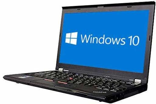 lenovo ThinkPad X230i(2003619)☆【Win10 64bit】【Core i3 3110M】【メモリ4GB】【HDD320GB】【W-LAN】【