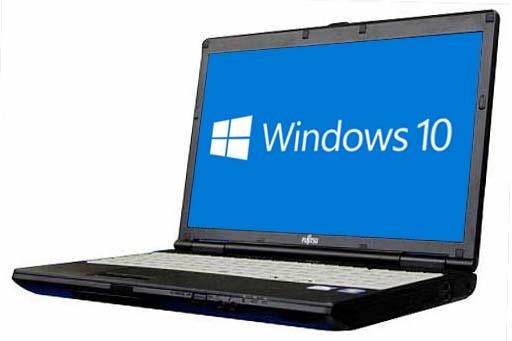 富士通 FMV-LIFEBOOK A552/EX(2056020)【Win10 64bit】【テンキー付】【メモリ4GB】【HDD320GB】【DVD-ROM】【中
