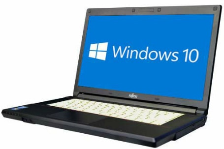 富士通 LIFEBOOK A574/K(4010368)【Win10 64bit】【HDMI端子】【メモリ4GB】【HDD320GB】【DVD-ROM】【下北