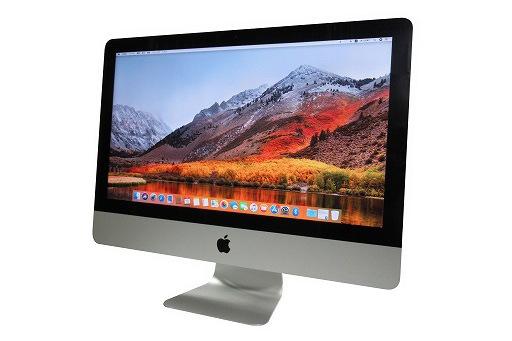 apple iMac 21.5インチ(Late 2012)MD094J/A(4010573)☆【webカメラ】【Core i5 3330S】【メモリ8GB】【HDD1TB】