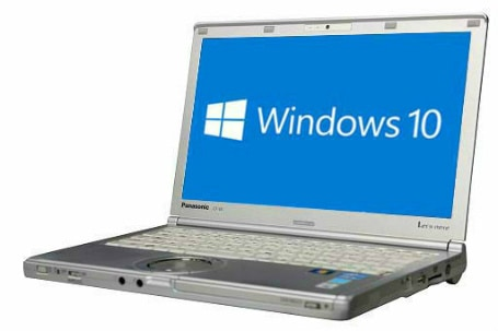 Panasonic Let'sNote CF-SX2(4011940)☆【Win10 64bit】【webカメラ】【HDMI端子】【Core i5 3340M】【メモリ4G