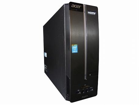 acer Aspire XC-605-A34D(7518868)【Win10 64bit】【HDMI端子】【Core i3 4150】【メモリ4GB】【HDD500GB】