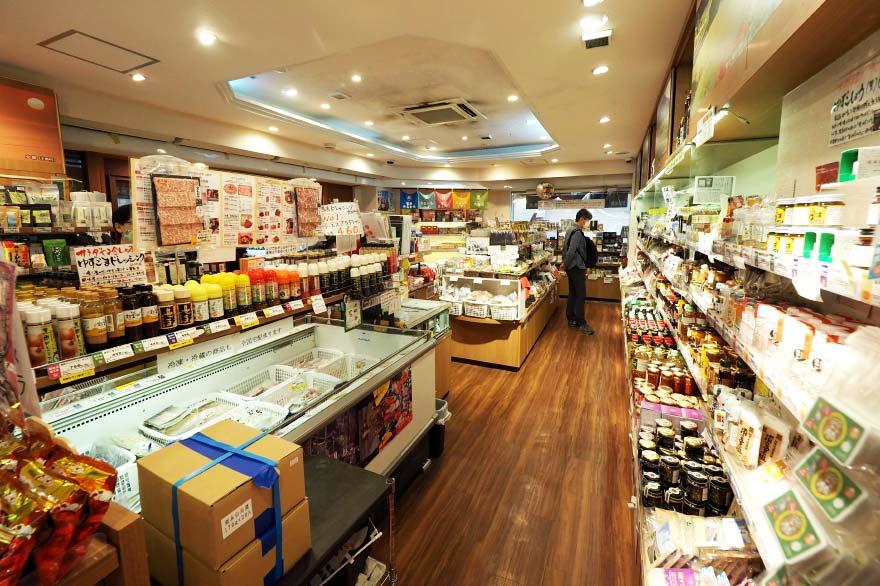 1階食品売り場