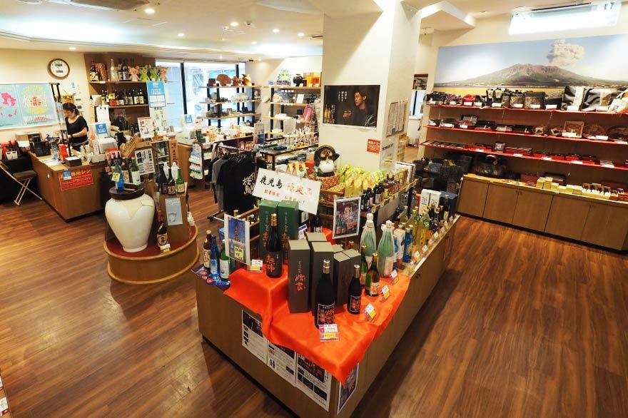 2階酒類・工芸品売り場