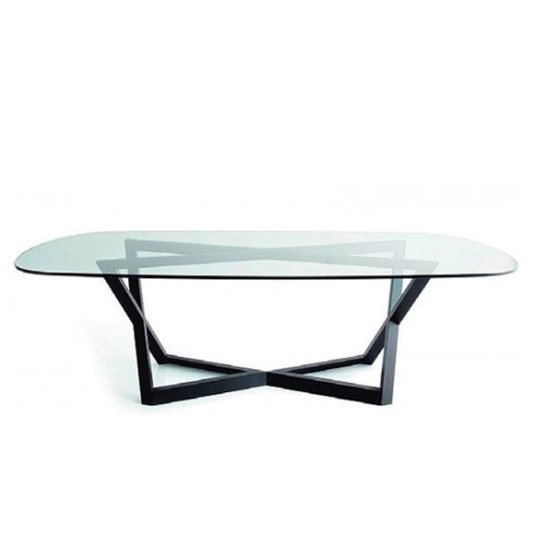 イタリア製ガラステーブル