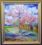 ゴッホ: 花咲く桃の木、モーヴの思い出