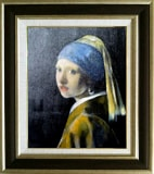 フェルメール:真珠の耳飾の少女