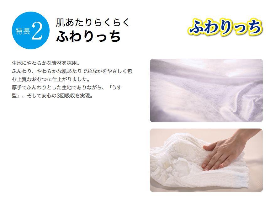 PUサルバ やわ楽パンツ安心うす型商品特徴2