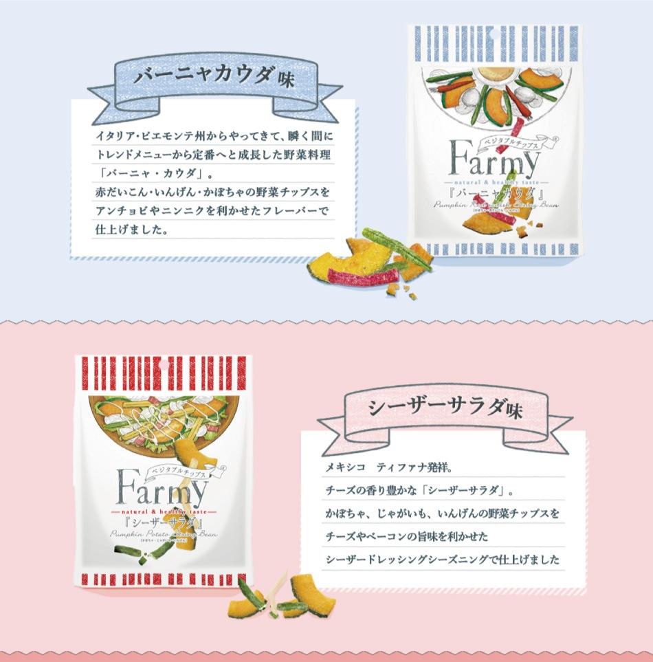 Farmy バーニャカウダ シーザーサラダ