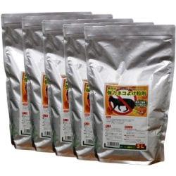 業務用強力動物よけ粒剤 大容量5L 猪・鹿よけ 激辛ハバネロを追加した強力忌避剤!