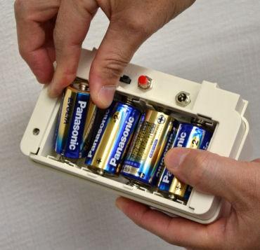 乾電池式 ネズミ撃退器