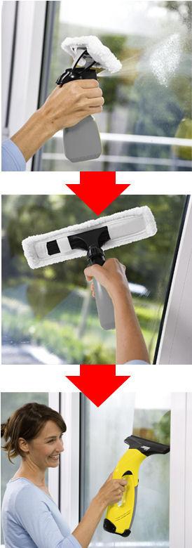 窓用バキュームクリーナー WV 50 plus