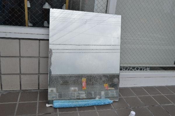 フリーテックス 鏡・ガラスのクレンジングコート剤 鏡からウロコ!!