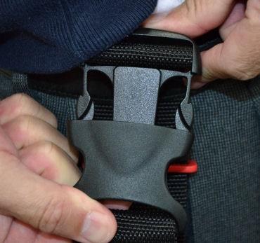 プロポケット3 ブラック ハーネスにも直付けできる腰袋