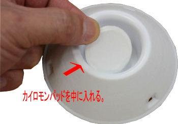 調査用 ドームトラップ・タバコ用取り替え用フェロモン