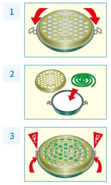 アース製薬 アース渦巻香 ジャンボ線香皿