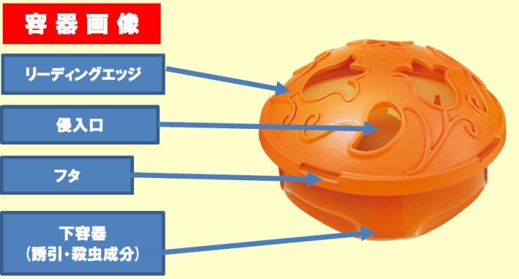 大日本除虫菊株式会社 業務用フライキャッチャー 置くタイプ