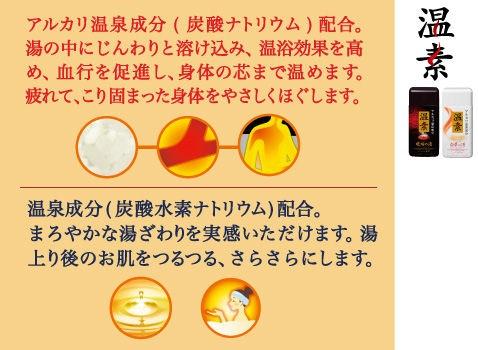 アース製薬 温素[ボトル入り] 白華の湯