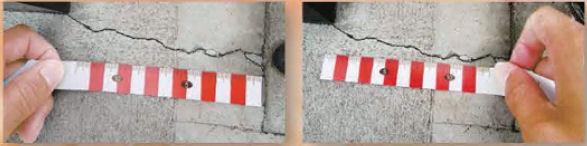 土牛産業株式会社 樹脂製両面紅白スケール [02756]