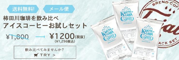 特別価格・送料無料 アイスコーヒーお試しセット