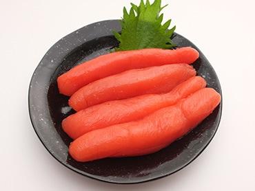 角上魚類のたら子は「ハリ・ツヤ一級品」